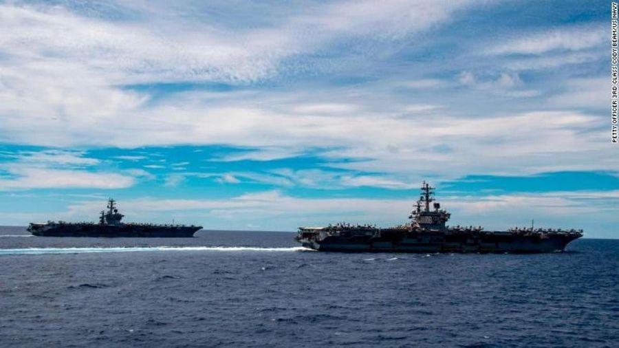 Hải quân Mỹ 'lo ngại' song sẵn sàng đối đầu Trung Quốc ở Biển Đông và các khu vực khác