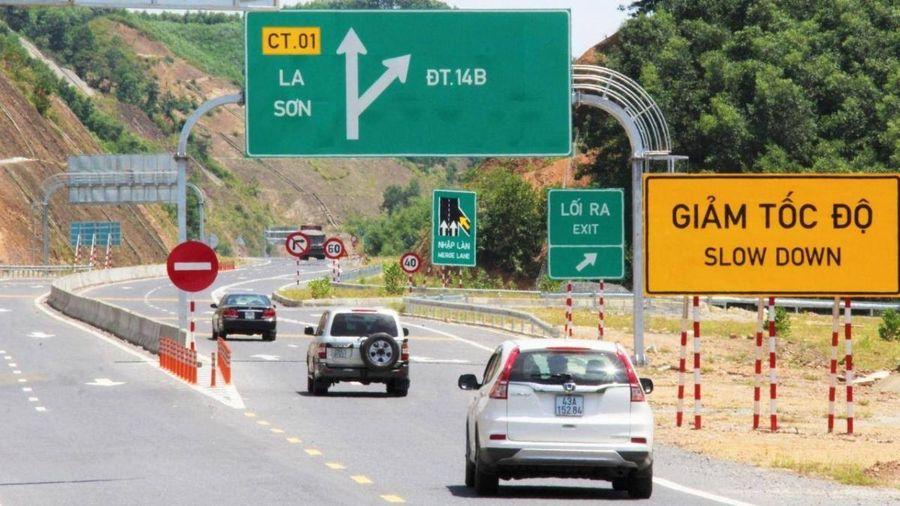 Ô tô sắp được lưu thông trên cao tốc La Sơn-Túy Loan, rút ngắn khoảng cách Huế-Đà Nẵng