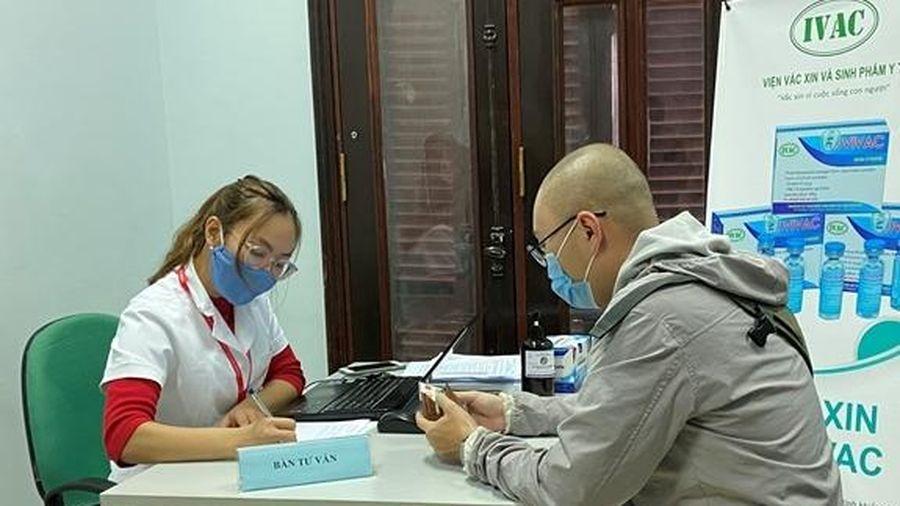 Tuyển tình nguyện viên từ 40-59 tuổi tiêm thử nghiệm vắc xin COVID-19 thứ 2 của Việt Nam
