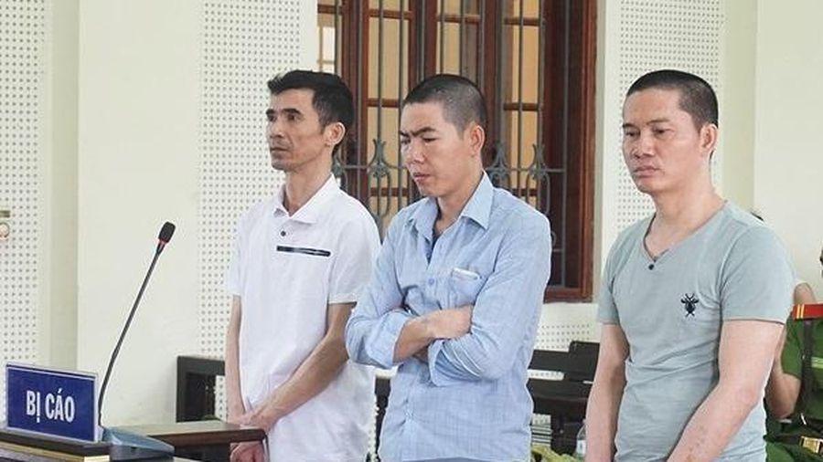 Hai án tử hình, một án chung thân cho nhóm người mua bán ma túy