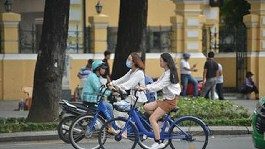 TP.HCM thí điểm xe đạp công cộng với mức giá 5.000 đồng/30 phút