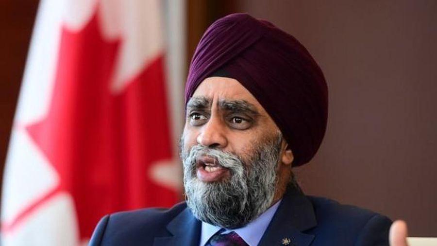 Bộ trưởng Quốc phòng Canada phản đối các hành vi của Trung Quốc ở Biển Đông