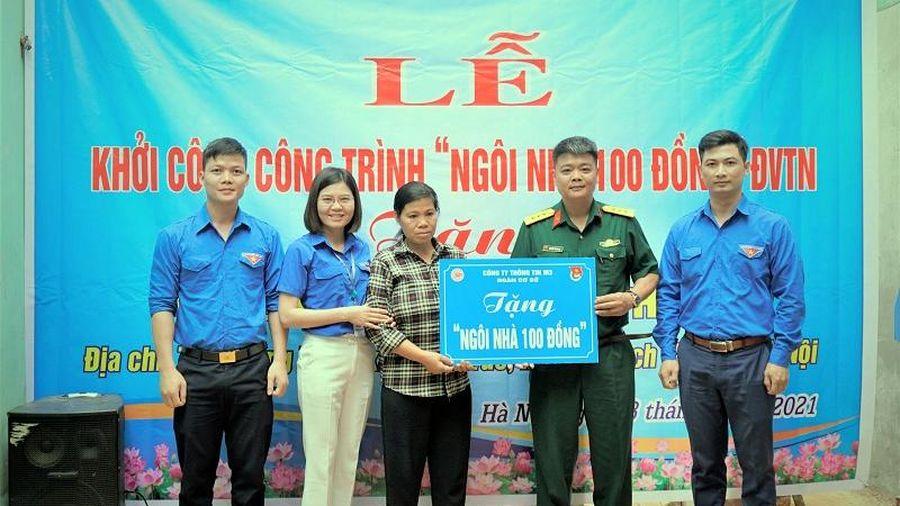 Huyện Thạch Thất: Khởi công xây dựng nhà tình nghĩa tại xã Đồng Trúc