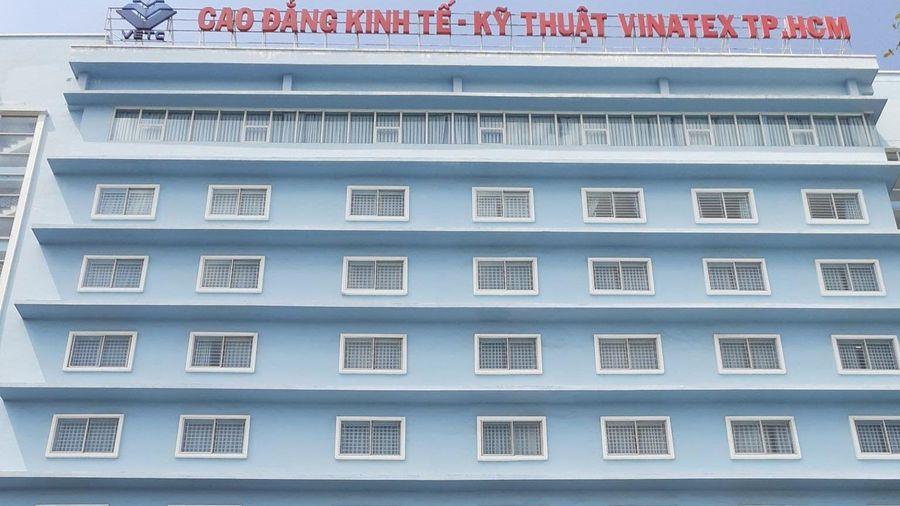 Đổi tên Trường CĐ Kinh tế- Kỹ thuật Vinatex TP.HCM thành CĐ Công nghệ TP.HCM