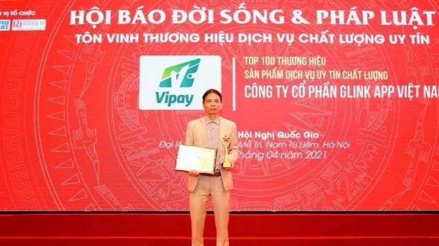 Công ty GLINK APP Việt Nam đạt danh hiệu 'Top 100 thương hiệu sản phẩm dịch vụ uy tín chất lượng'