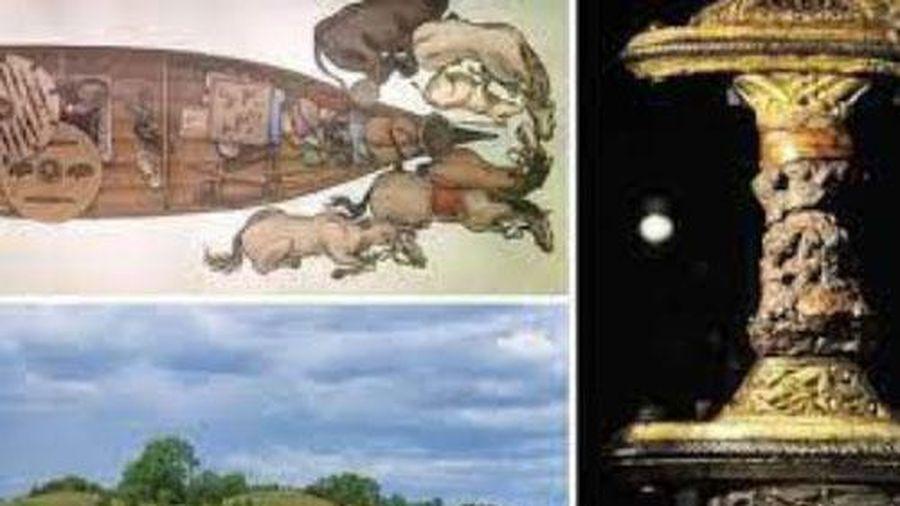 Hai con thuyền đầy châu báu giữa đồng: Mộ cổ kỳ lạ của người và cú