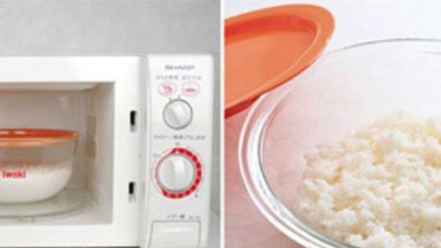Cho cơm vào lò vi sóng dễ gây ung thư: Sai lầm tai hại nhiều bà nội trợ mắc phải khiến cả nhà đón bệnh