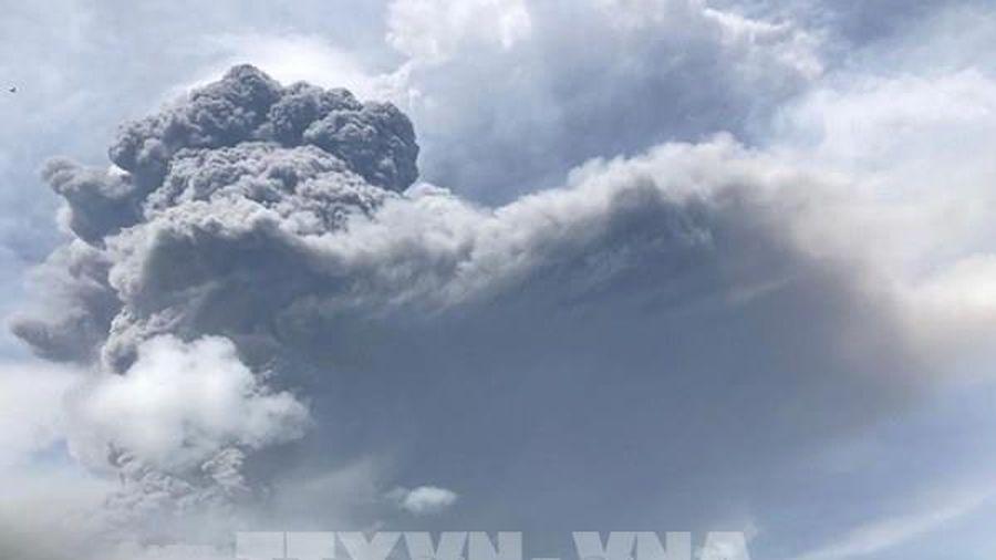Núi lửa tại Saint Vincent gây ra vụ nổ lớn
