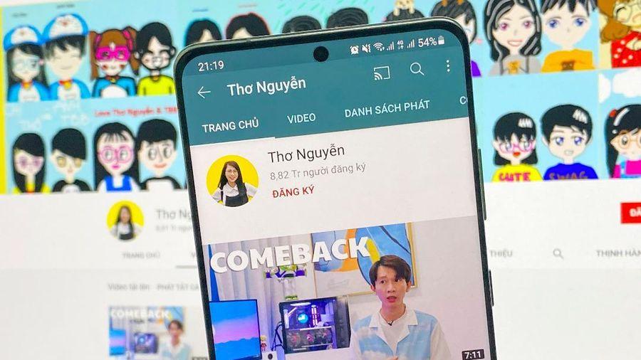 Kênh YouTube Thơ Nguyễn tuyên bố quay trở lại, Sở TT&TT tỉnh Bình Dương nói gì?