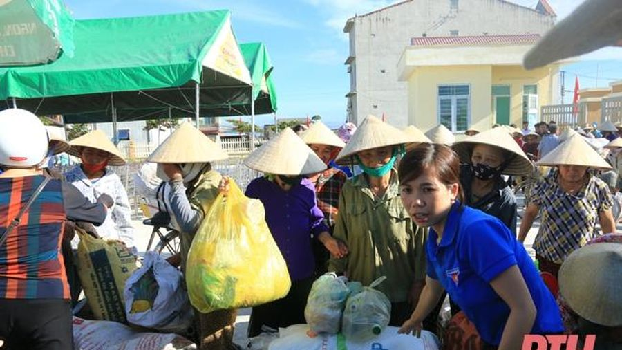 Tuổi trẻ huyện Thọ Xuân xung kích, tình nguyện trong bảo vệ môi trường