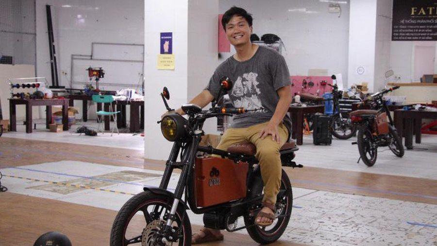 2,6 triệu USD đầu tư vào start-up xe máy điện của Việt Nam