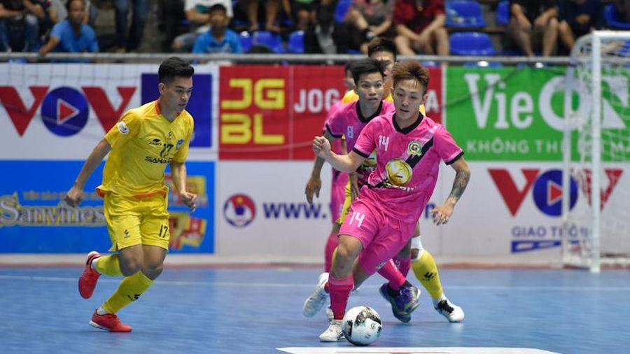 VCK giải Futsal HDBank VĐQG 2021: Sanvinest Khánh Hòa dẫn đầu sau 2 lượt đấu
