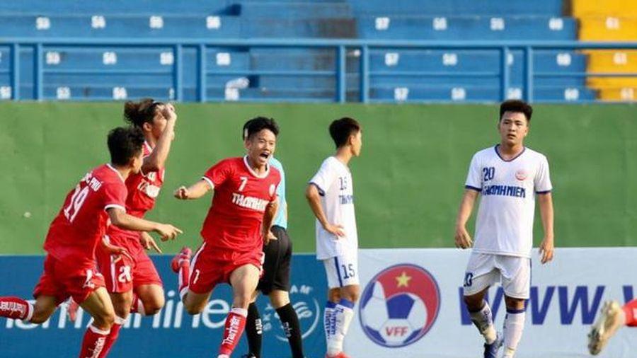 VCK U19 Quốc gia 2021: U19 PVF và U19 Học viện NutiFood vào chung kết
