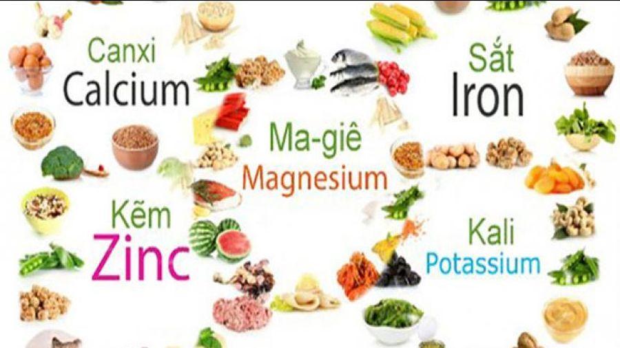 Vai trò của vitamin và khoáng chất với cơ thể