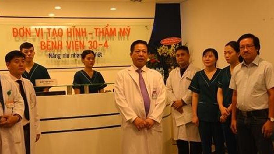 Nhiều bệnh nhân được hưởng lợi từ 'Đơn vị Tạo hình Thẩm mỹ' khoa Tai mũi họng BV 30/4