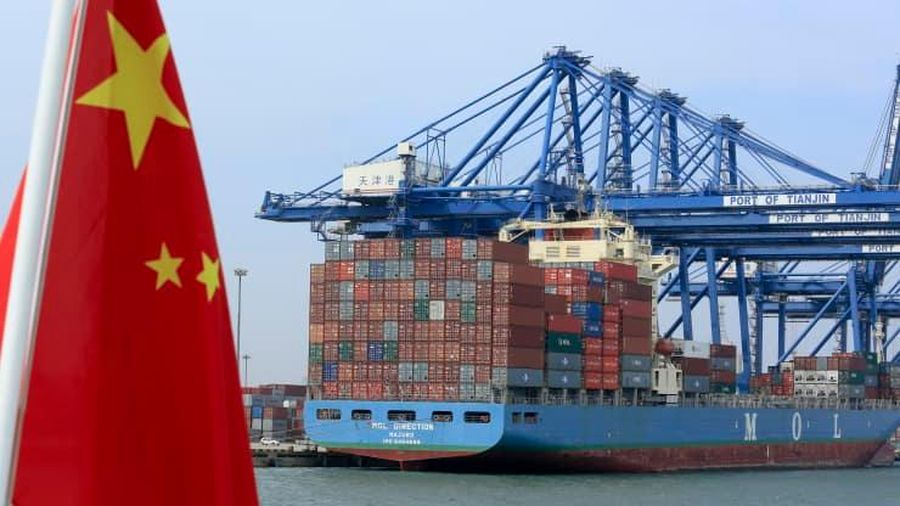 Ngoại thương Trung Quốc tăng trưởng mạnh