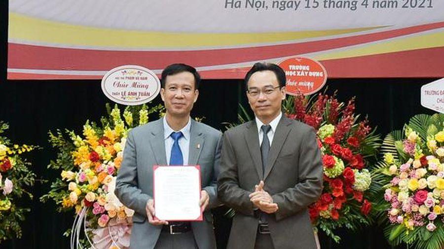 GS.TS. Lê Anh Tuấn là Chủ tịch Hội đồng trường ĐH Bách khoa Hà Nội