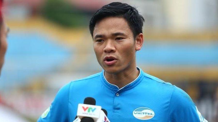 Thủ thành Viettel: 'Hy vọng HAGL chia điểm cùng Hà Nội'
