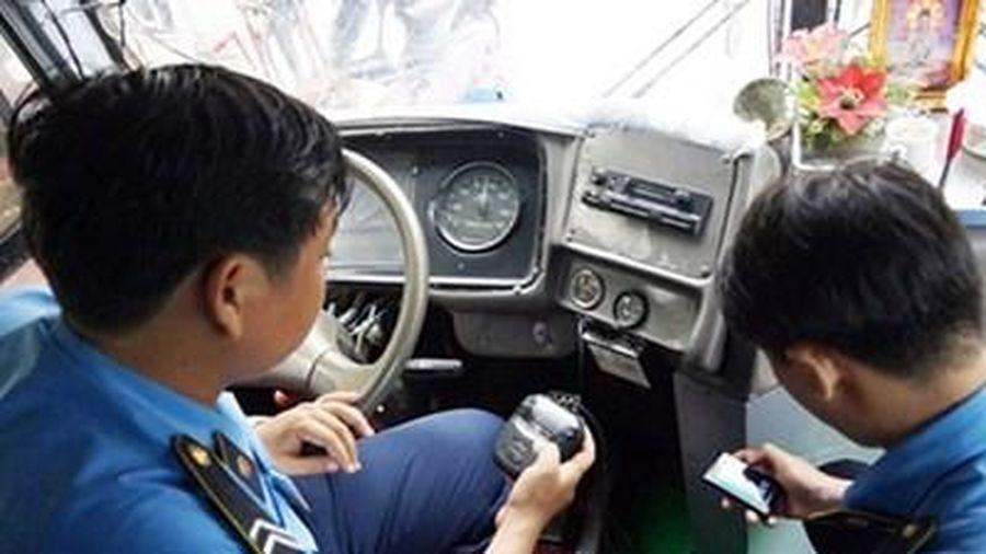 Hà Nội: 4 tháng, hơn 272.000 xe trốn dữ liệu giám sát hành trình