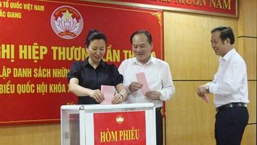 Bắc Giang: Giới thiệu 11 người ứng cử đại biểu Quốc hội