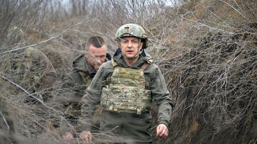 Ukraine cảnh báo 'lằn ranh đỏ' với Nga