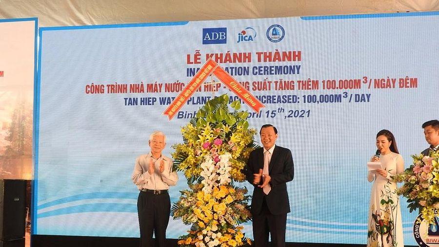 Khánh thành nhà máy cấp nước lớn nhất Việt Nam