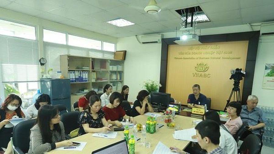 Giới thiệu 'Bộ tiêu chí Văn hóa Kinh doanh Việt Nam'