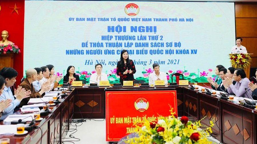 Chặt chẽ quy trình hiệp thương lần thứ ba để chốt danh sách người ứng cử đại biểu Quốc hội và HĐND các cấp