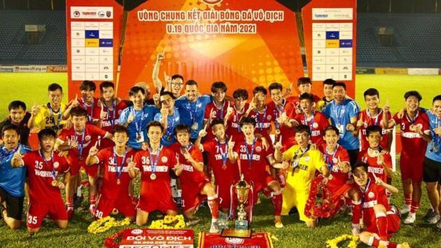 Thua thảm trước PVF, U19 NutiFood tiếp tục về nhì Giải U19 quốc gia