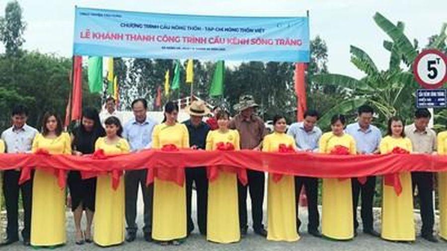 Khánh thành 17 công trình cầu nông thôn tại khu vực biên giới Long An