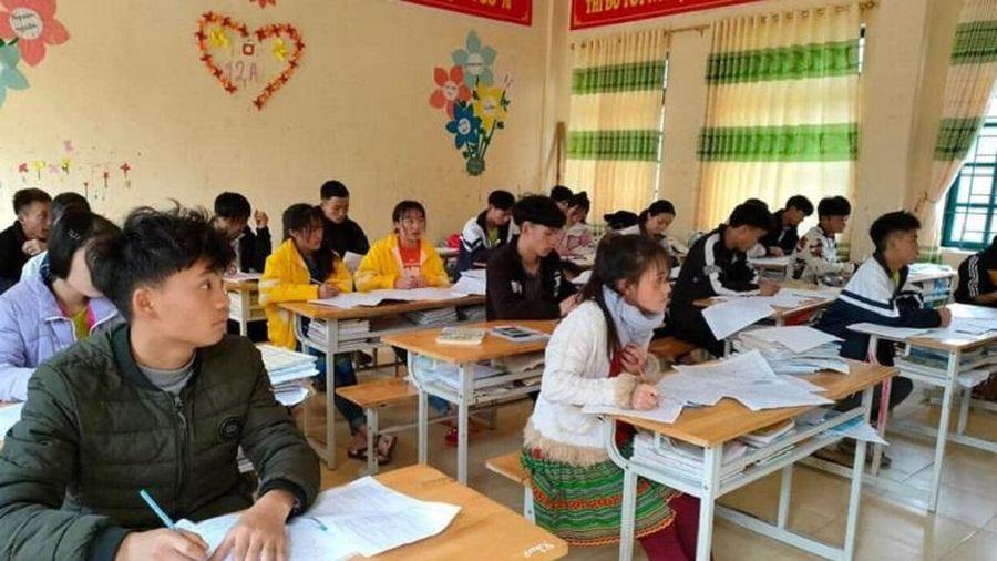 Ôn thi tốt nghiệp cho học sinh vùng khó: Kinh nghiệm đạt điểm cao