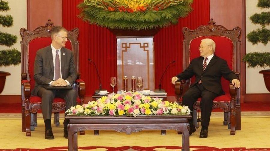 Tổng Bí thư Nguyễn Phú Trọng tiếp Đại sứ Hoa Kỳ tại Việt Nam chào từ biệt kết thúc nhiệm kỳ