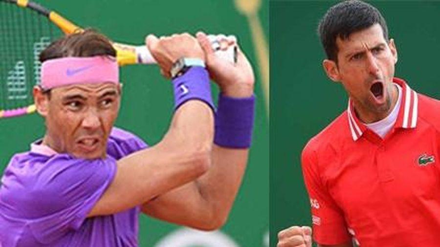 Djokovic và Nadal khởi đầu thuận lợi tại Monte Carlo Masters 2021