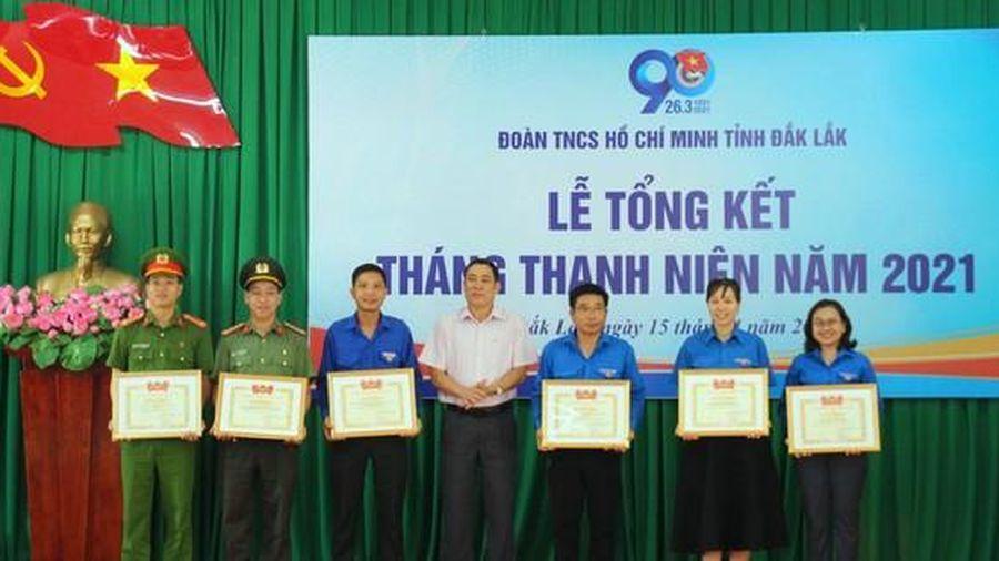 Tuổi trẻ Đắk Lắk thực hiện 710 công trình, phần việc