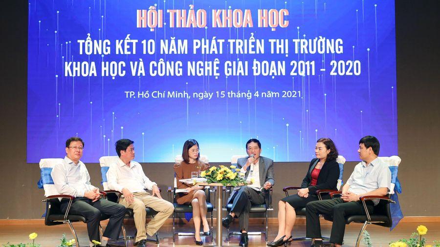 Thị trường khoa học-công nghệ đã hình thành và phát triển tại Việt Nam