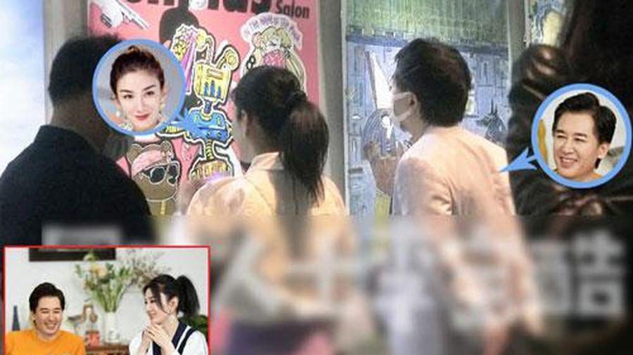 'Tiểu Yến Tử' Huỳnh Dịch đưa con gái đi hẹn hò với người đàn ông lạ sau lùm xùm tố bị chồng cũ đánh lúc mang thai
