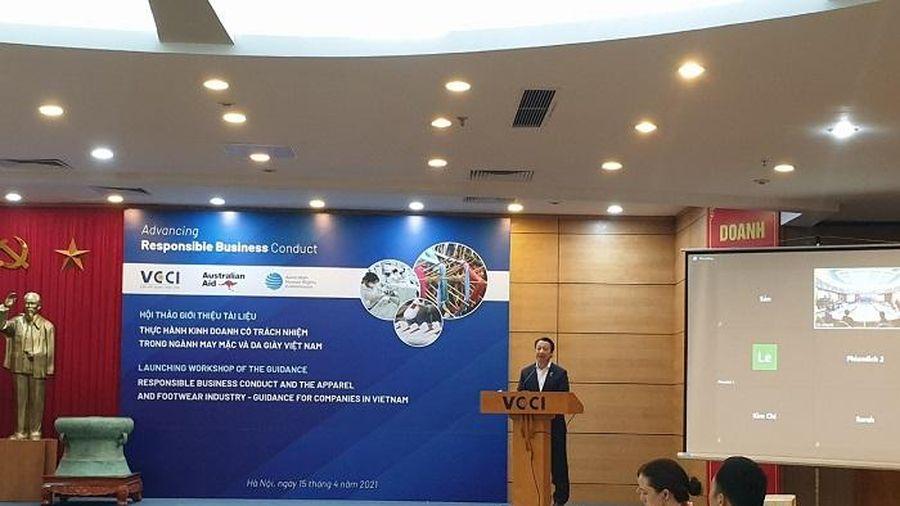 Tổng thư ký VCCI: Kinh doanh có trách nhiệm là điều cần phải làm của doanh nghiệp