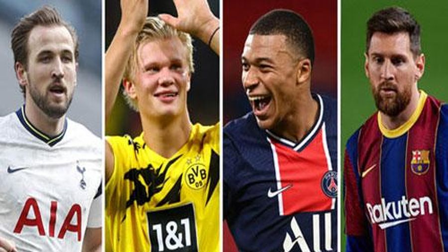Tương lai Haaland, Kane, Mbappe và Messi thay đổi ra sao nếu PSG vô địch Champions League?