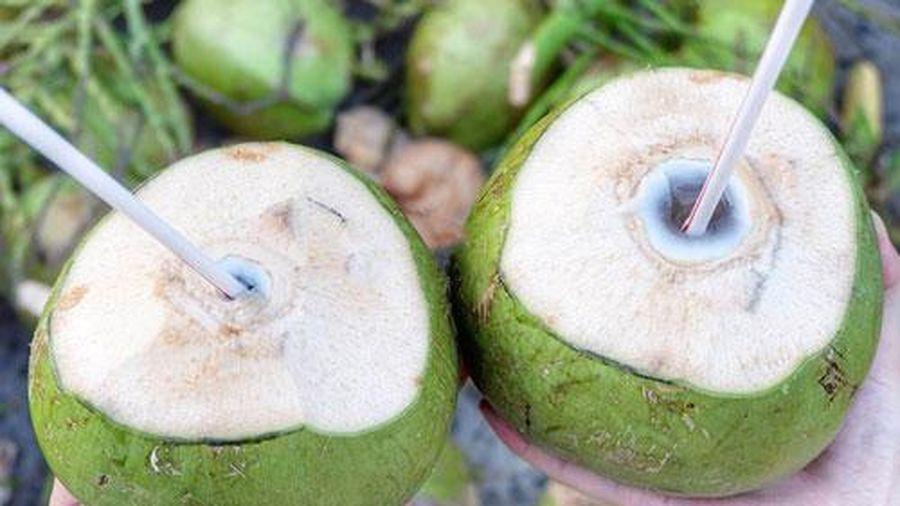 Mách chị em bí quyết chọn dừa xiêm nhiều nước, 10 quả ngon ngọt cả 10