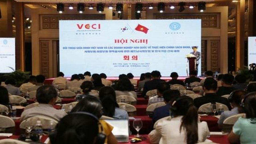 Hơn 100 doanh nghiệp Hàn Quốc tham gia đối thoại về chính sách bảo hiểm xã hội