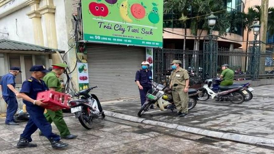 Nỗ lực xử lý vi phạm trật tự đô thị trên địa bàn phường Thành Công