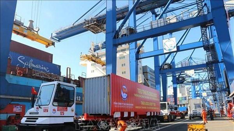 Tân Cảng - Hải Phòng tiếp nhận siêu tàu container 132.900 DWT từ ngày 1/5
