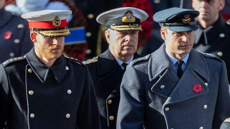 Nữ hoàng cấm mặc quân phục trong lễ tang Hoàng thân Philip để giữ thể diện cho Hoàng tử Harry và Andrew