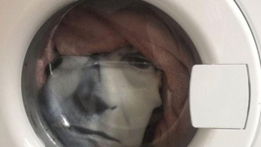 Ông bố 'suýt trụy tim' khi thấy mặt người trong máy giặt và sự thật 'ngã ngửa'