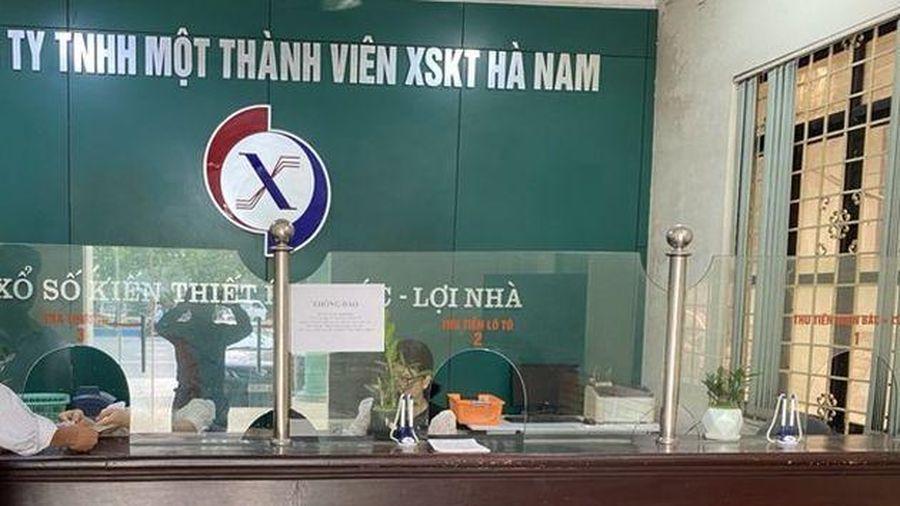 Những mập mờ về tài chính tại công ty TNHH 1 thành viên Xổ số kiến thiết Hà Nam