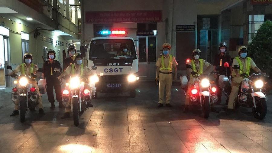 Ra quân bảo đảm trật tự an toàn giao thông dịp lễ 30/4, 1/5 và bảo vệ bầu cử