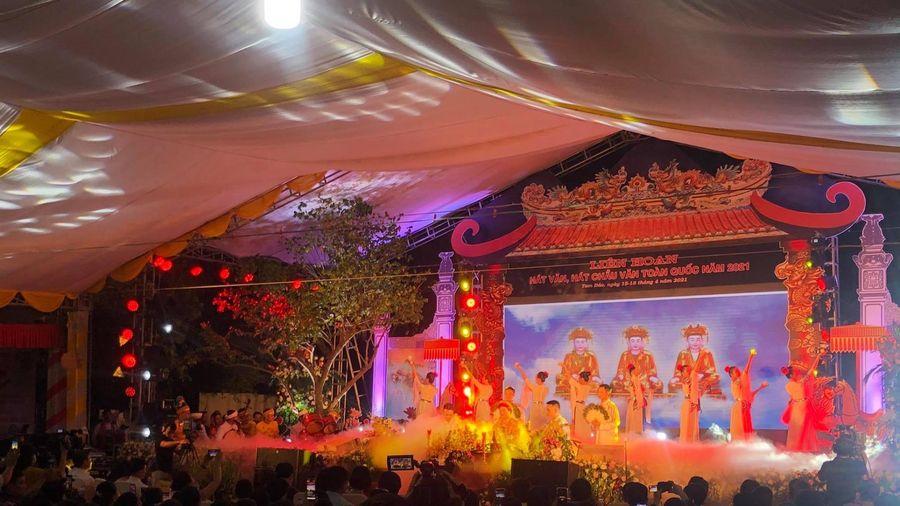 Khai mạc Liên hoan hát Văn, hát Chầu văn toàn quốc tại Vĩnh Phúc