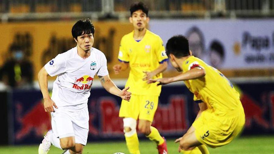 Vòng 10 LS V.League 1: Nóng cuộc chạm trán tốp 6