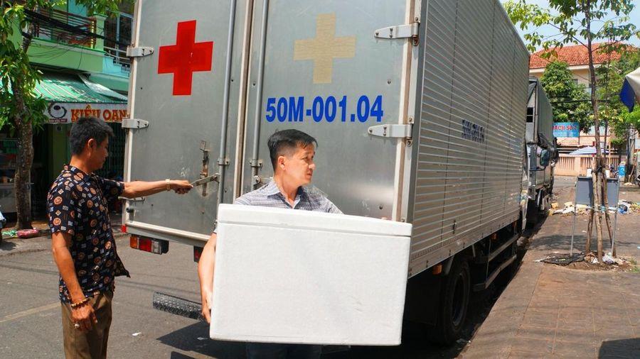 Cần Thơ tiếp nhận 6.700 liều vaccine phòng Covid-19