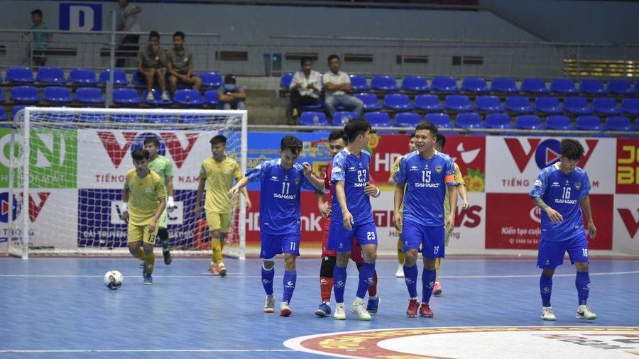 Giải Futsal HDBank VĐQG 2021: Sahako tạm chiếm ngôi đầu